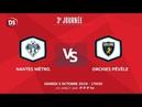 J3 | Nantes Metropole - Orchies Pevele, samedi 5 octobre à 17h30