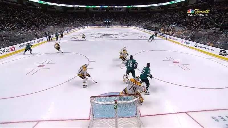 Сан Хосе - Нэшвилл. NHL Highlights - Predators vs. Sharks - Nov. 9, 2019
