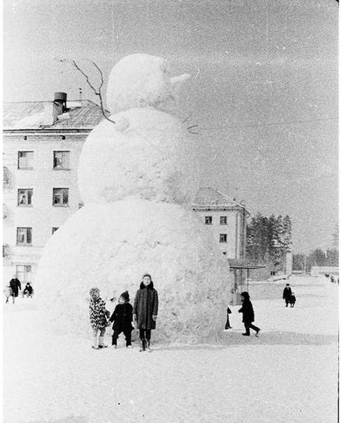 А вы помните своего снеговика