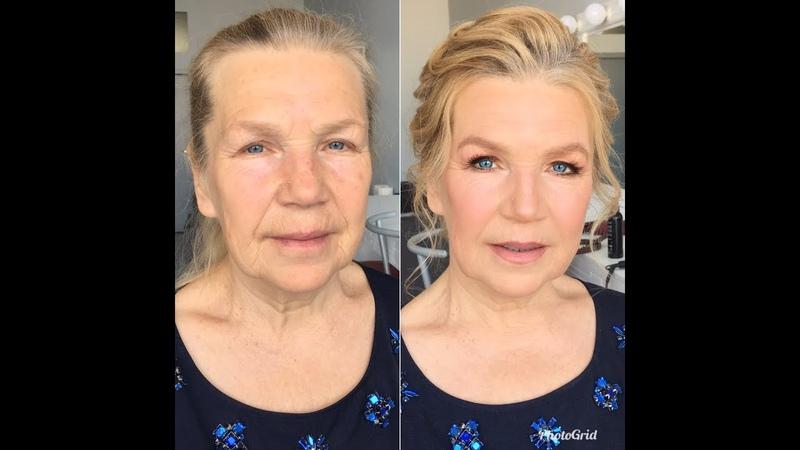 Бабушка красавица Преображение пожилых женщин.