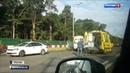 Вести в 20 00 • Полиция ищет лихача устроившего масштабную аварию на Волоколамском шоссе