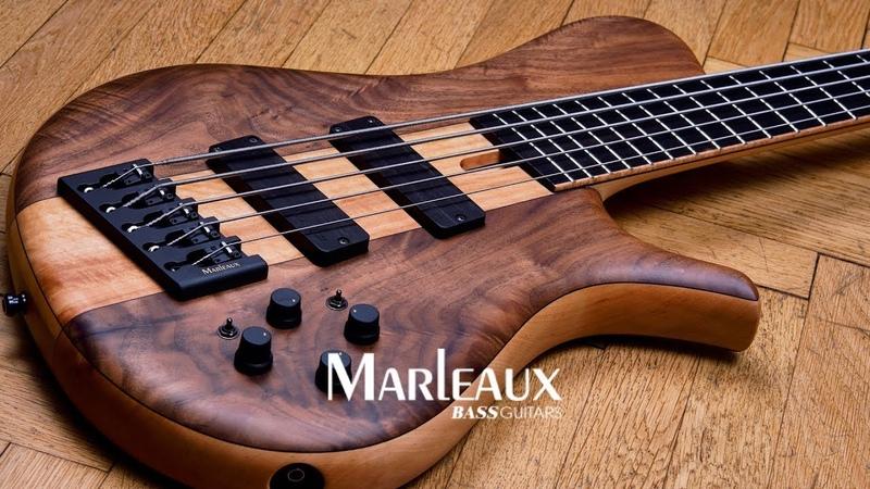 Marleaux Mbass Custom 5 Hollow Bass Demo