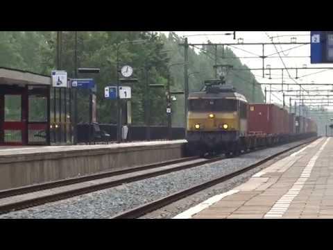 Bentheimer Eisenbahn LOK 1835 komt door station Culemborg!