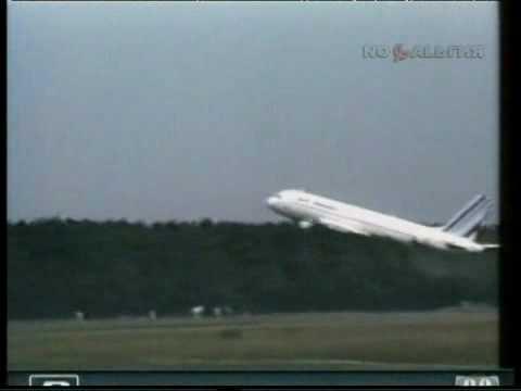 Падение А-320 при взлете 1988