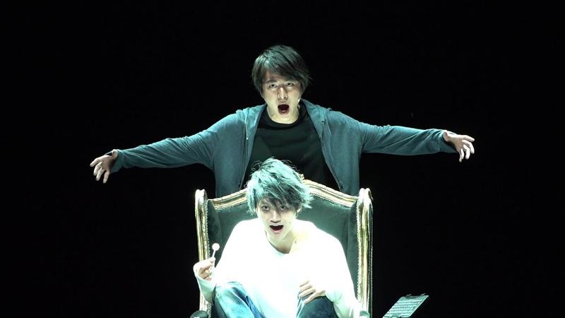 デスミュ エルが歌い、ミサミサが躍る「デスノート THE MUSICAL」公開稽古 ねとらぼエンタ