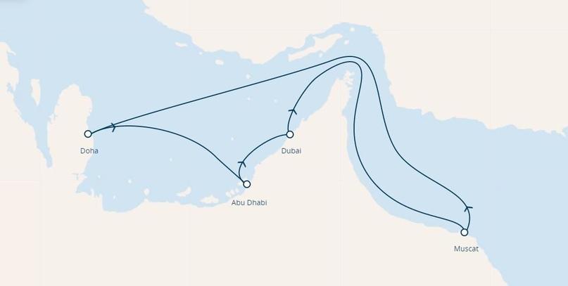 COSTA DIADEMA. Круиз по Персидскому заливу, изображение №2