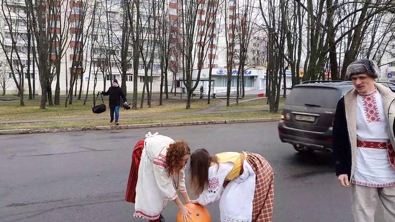 Акцыя ля амбасады Расіі ў Мінску «Такі жаніх нам ня любы»