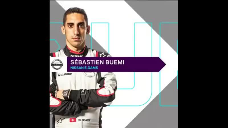 Buemi hits the