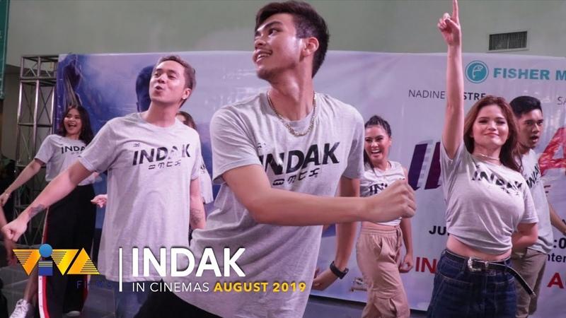 Maki-INDAK with Team Indak Pinas Live Performance of Sumayaw sa Indak @ Fisher Mall Malabon