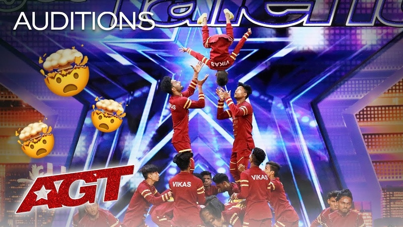 V.Unbeatable Dance Crew From India Soars, Flies, And Makes You Emotional - America's Got Talent 2019