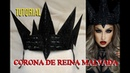 TUTORIAL - 👑 CORONA de la REINA MALVADA / Evil Queen Crown tutorial   auroramakeup