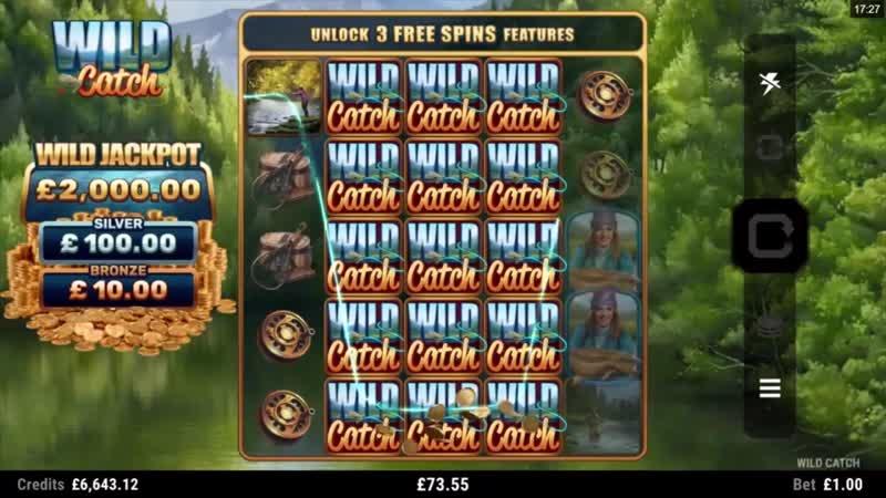 Лучшие слоты Microgaming | Wild Catch Online Slot Promo