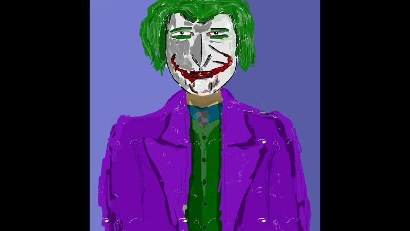 Joker from Dark Kinght Speed Art