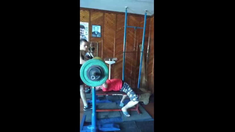 85 кг, собственный вес-65кг