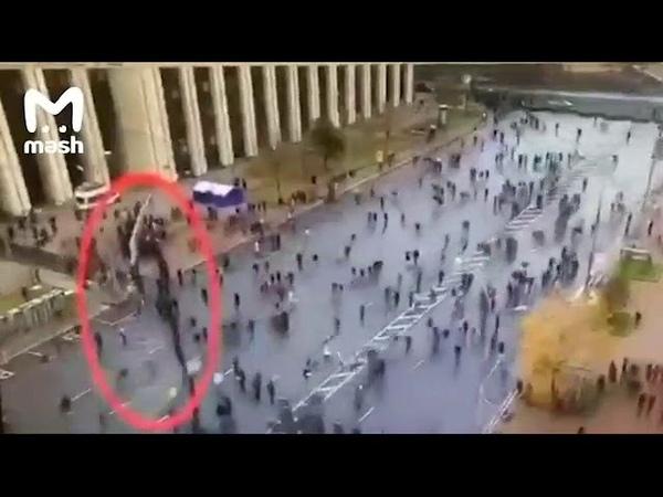 Митинг оппозиции в Москве - люди устроили карусели, чтобы быть посчитанными несколько раз
