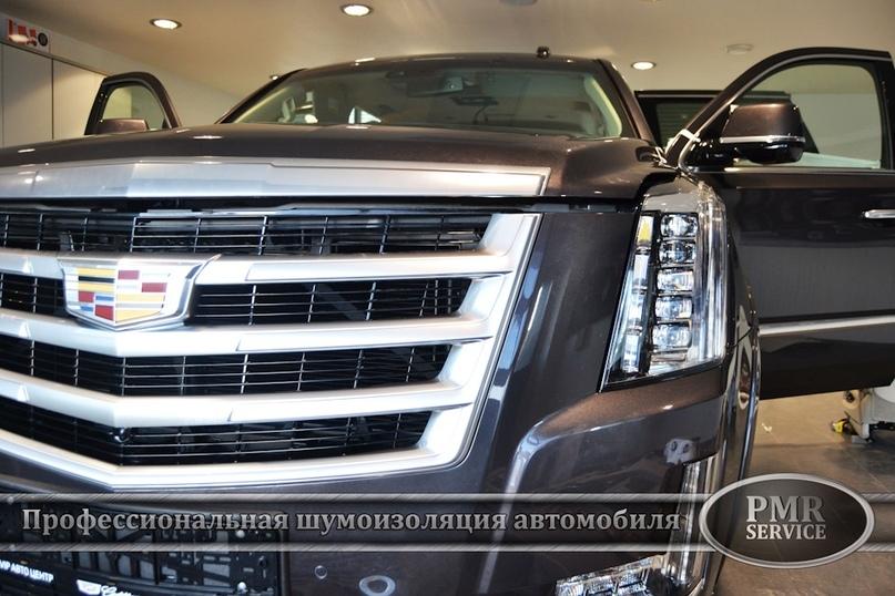 Шумоизоляция Cadillac Escalade ESV, изображение №2