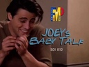 FRIENDS: Joey's Baby Talk (S01 E12)