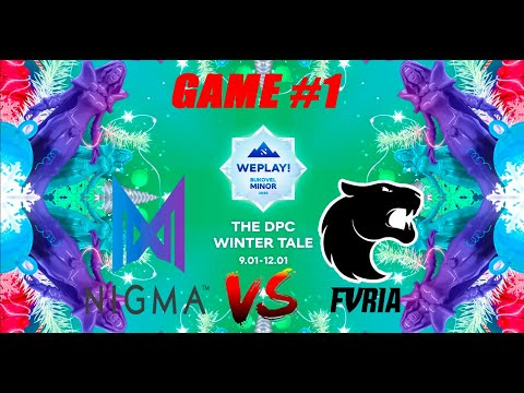 Nigma vs Furia | Bukovel Minor 2020 | Miracle | Bo3 WePlay | Group Stage | Game 1