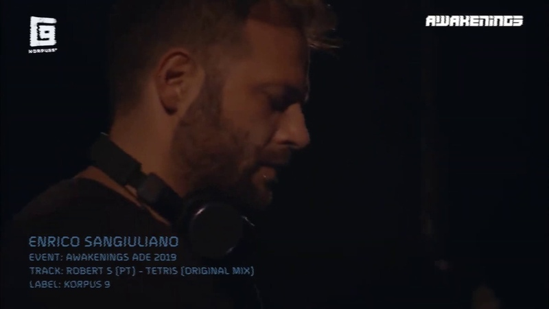Enrico Sangiuliano drops Robert S PT 's Tetris at Awakenings ADE 2019