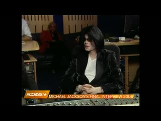Michael Jacksons Final Interview While Recording New Music With