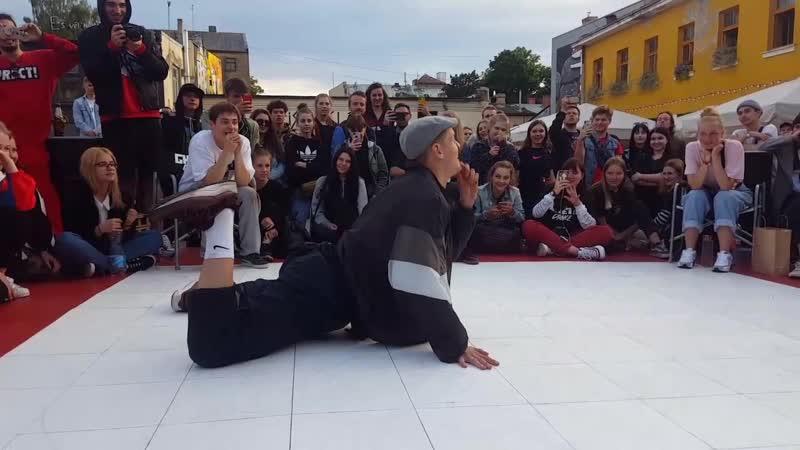 Ghetto Dance Hardcore battle 2019. Damen vs Ganna. FINAL
