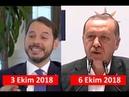 Berat Albayrak'a göre Cumhurbaşkanı Erdoğan ya hain ya da cahil!