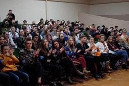 Александр Рябченко рассказал студентам о траектории развития молодежи