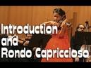 Camille Saint-Saëns - Introduction and Rondo Capriccioso | Leia Zhu (11 y o)