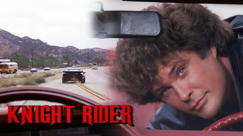 K.I.T.T Poses As Bait For Luxury Car Thieves | Knight Rider