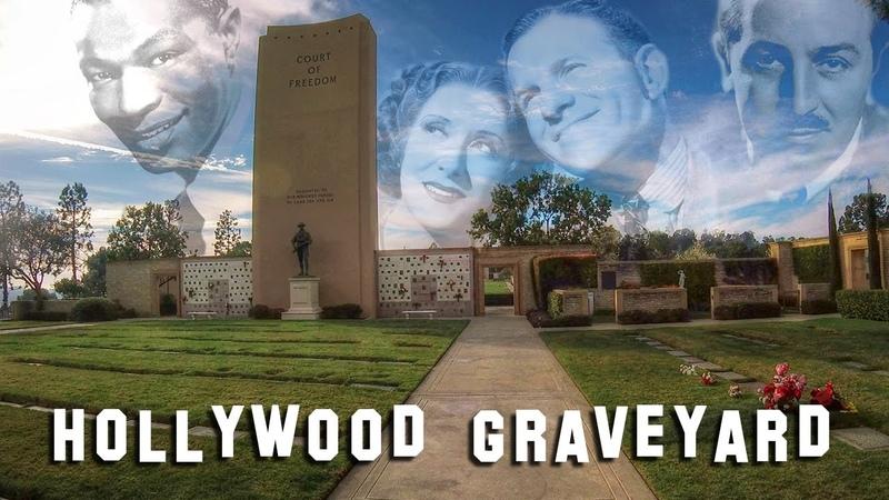 FAMOUS GRAVE TOUR Forest Lawn Glendale 1 Walt Disney Sammy Davis Jr etc
