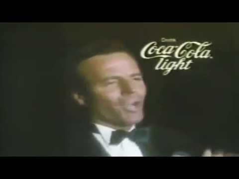 Julio Iglesias , Coca Cola Light commercial