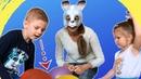 ВЛОГ - заяц и ИГРЫ ДЛЯ ДЕТЕЙ. Подарки Киндер СЮРПРИЗЫ. Видео для детей