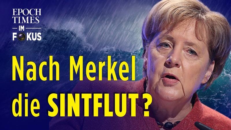Nach Merkel die Sintflut? Bloomberg wittert dunkle Zeiten für Deutschlands Wirtschaft   ET im Fokus