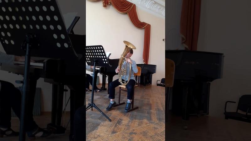 Блажевич концертный эскиз № 1 исп Асмоловский Борис 10 лет