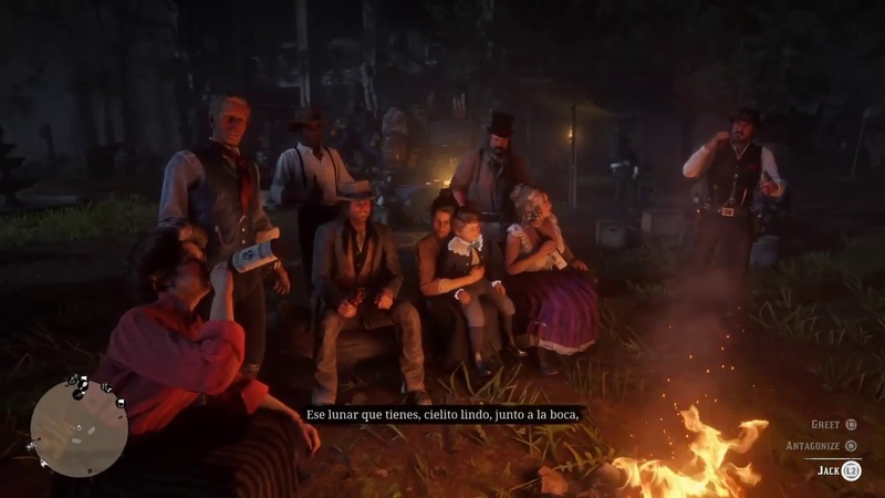 Red Dead Redemption 2 Cielito Lindo Camp Fire Song by Javier Escuella