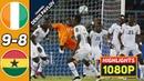 🔥 Кот-д'Ивуар - Гана 0-0 (9-8) - Обзор Матча Финал Кубок Африки 08/02/2015 HD 🔥