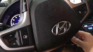Hyundai Solaris замок Гарант. Установили механическое противоугонное устройство на руль