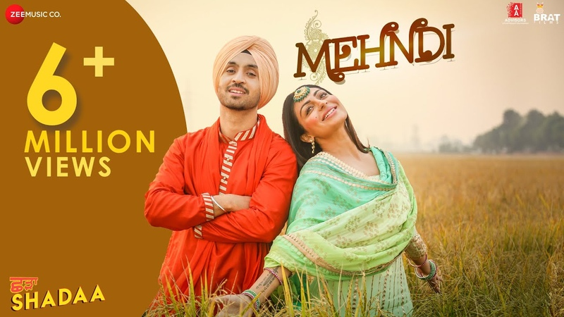 MEHNDI SHADAA Diljit Dosanjh Neeru Bajwa Shipra Goyal 21st June Punjabi Romantic Song