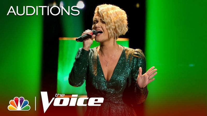 Marina Chello Delivers an Incredible Run at the End of P nk's Walk Me Home The Voice Blinds