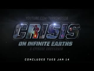 Dctv crisis on infinite earths crossover part four and five promo (hd)