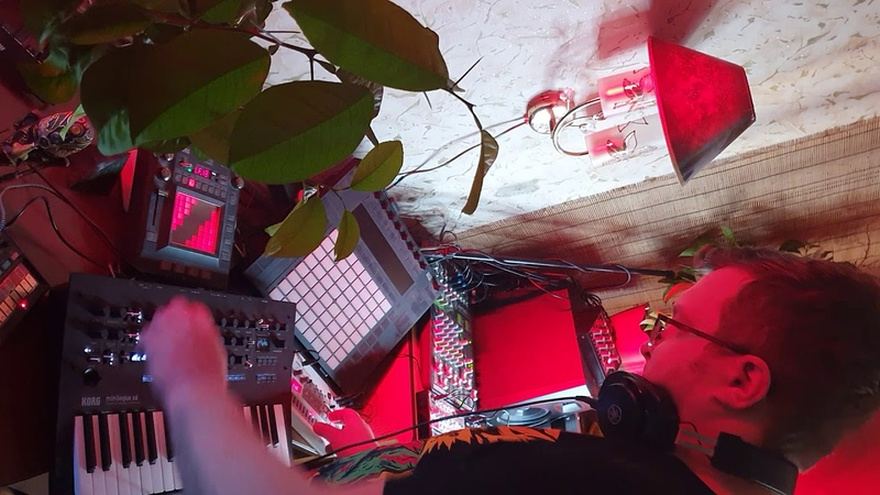 Dj Wadada - Live Techno Acid Session / 30 10 2019