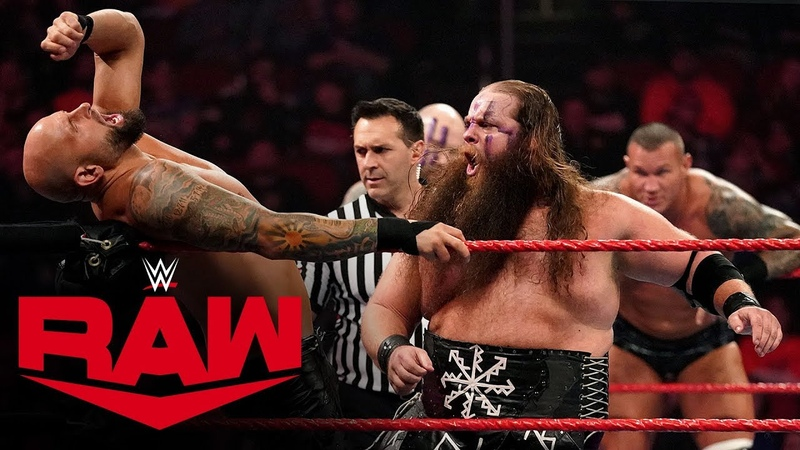 Randy Orton The Viking Raiders vs. The O.C. – Six-Man Tag Team Match: Raw, Dec. 23, 2019