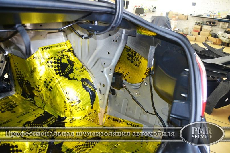 Шумоизоляция Nissan Teana, изображение №10