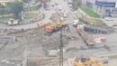 В Екатеринбурге на Эльмаше крушат подземный переход |