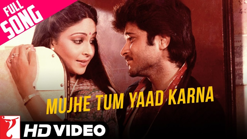 Mujhe Tum Yaad Karna Song HD मुझे तुम याद करना Mashaal Kishore Lata Anil Rati
