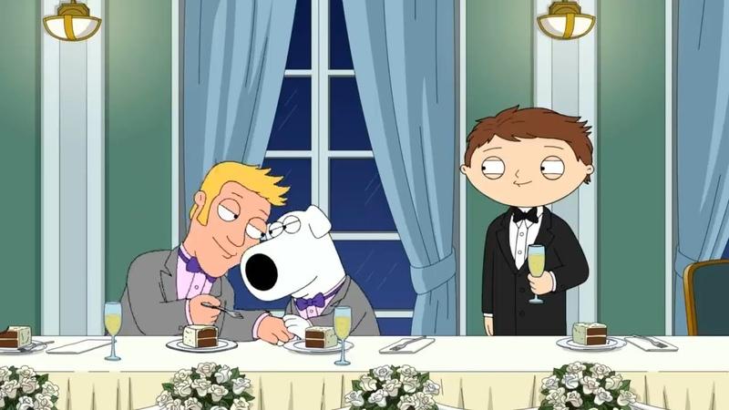 Гриффины (Family Guy) Лучшие моменты - СТЬЮИ ВЗРОСЛЫЙ 18 сезон