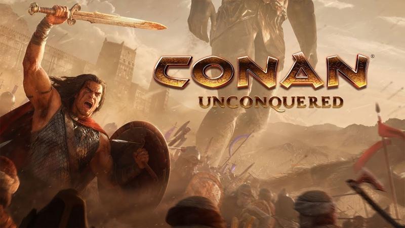 🎮Во Что Поиграть🎮 Conan Unconquered СТАНОВИМСЯ НА ЗАЩИТУ ДЕРЕВУШКИ