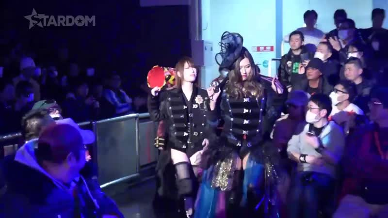 Hana Kimura Jungle Kyona Konami vs Natsuko Tora Natsu Sumire Saki Kashima Stardom The Way To Major League
