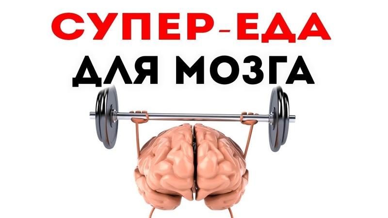 Эта СУПЕР-СПЕЦИЯ УСИЛИТ ПАМЯТЬ в разы! Продукты для мозга улучшающие память!