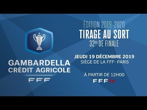 Le replay du tirage des 32es de finale en direct I Coupe Gambardella Crédit Agricole